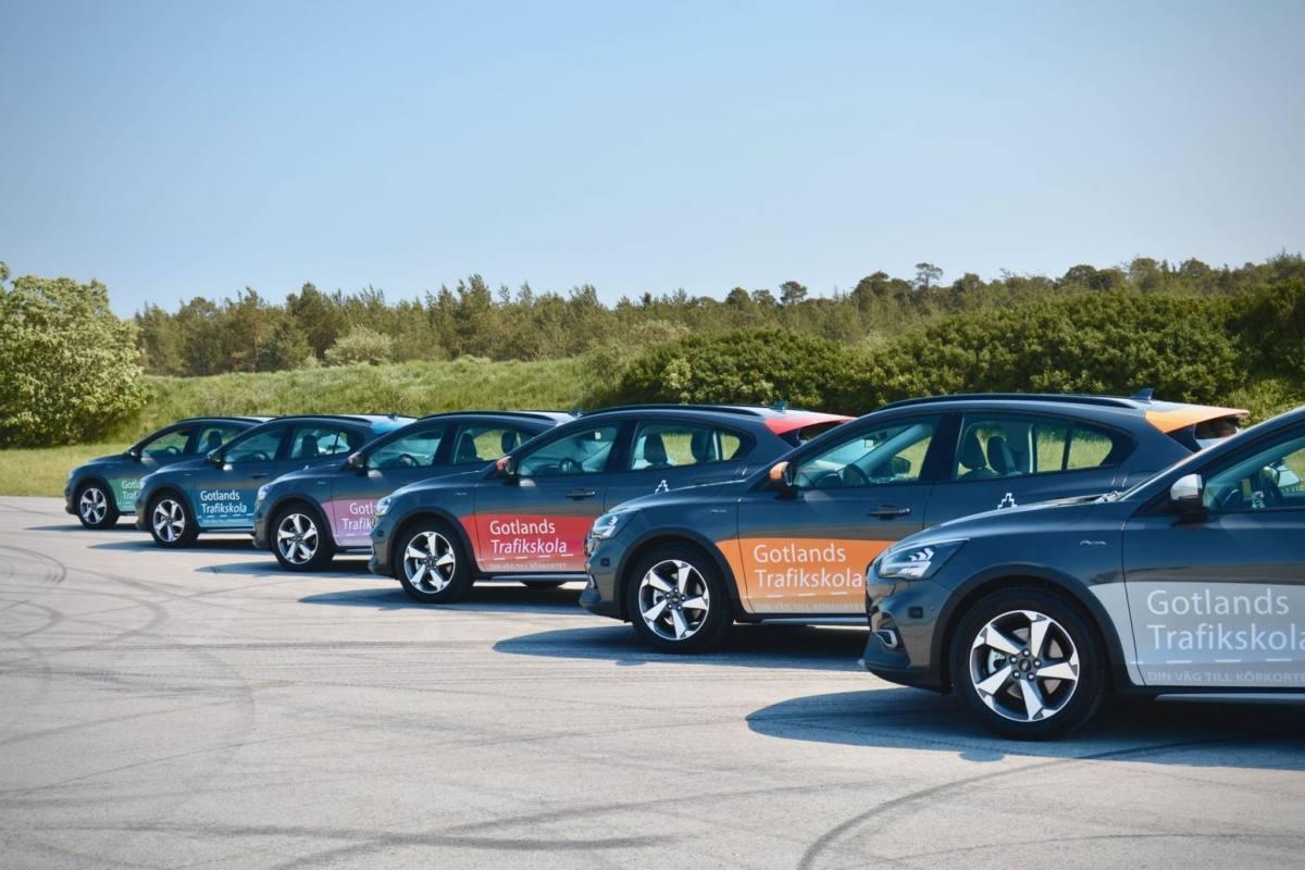 Fordonspark personbil - Gotlands trafikskola